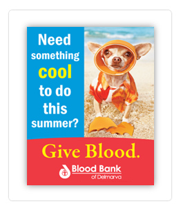 Advertising for Blood Banks