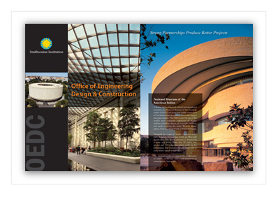 Smithsonian Brochure Design
